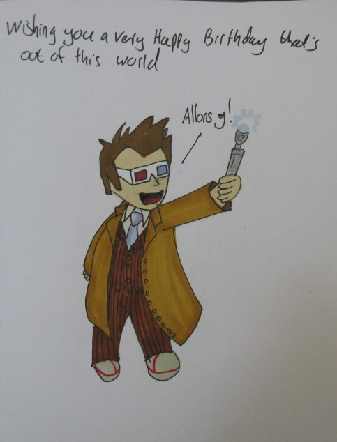 10th Doctor by IronBrony