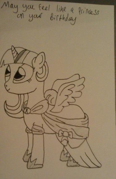 Princess Twilight by IronBrony