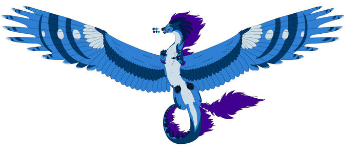 Blue guy Flat colors