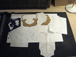 Ganondorf Costume, Drawings and Templates