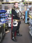 Ganondorf costume at Skyward Sword event 01