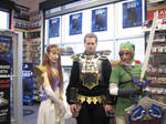 Link, Ganondorf and the lovely Princess Zelda