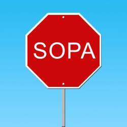 SOPA Sign