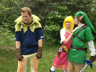 And of course... Link gets the girl. *sigh*