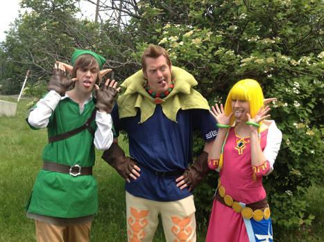 Crazy Zelda Cosplayers