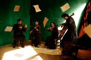 Martinez-Bourguet quartet 3 by dsiqueiros