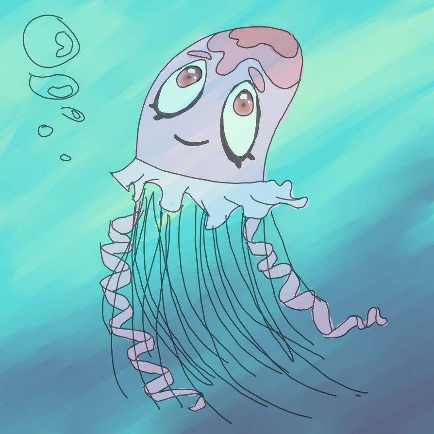 Jellyfish by InvaderMouse