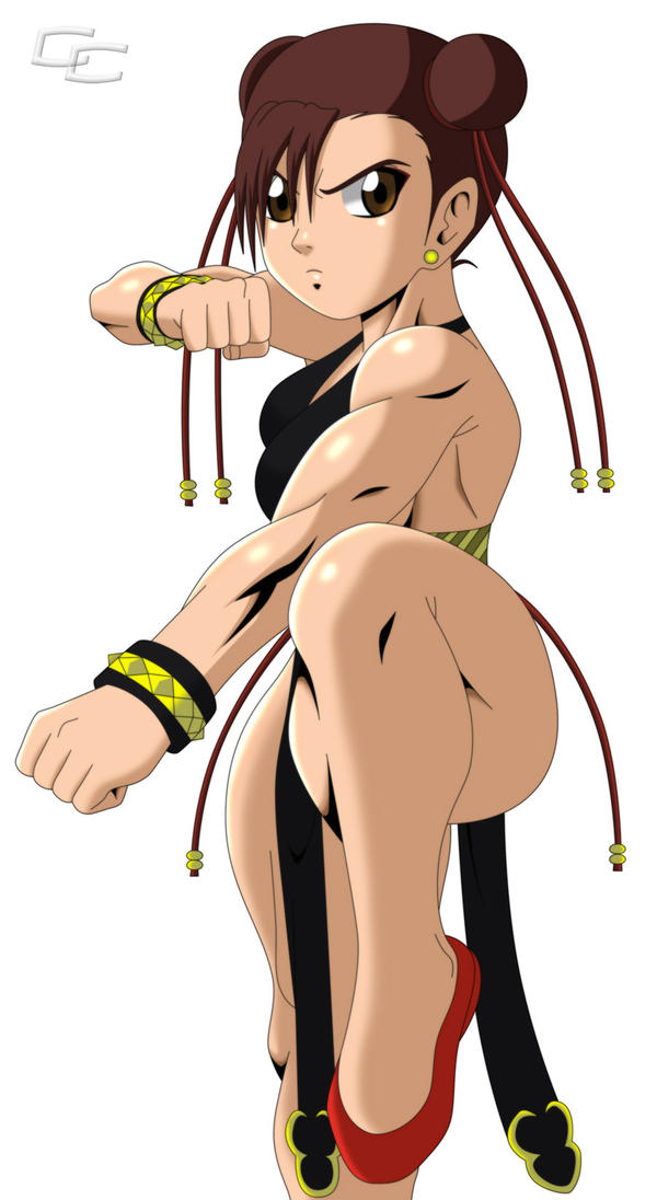 Commission: Chun-Li by crosscutter