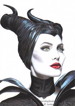 Angelina Jolie as Maleficent - Malefique