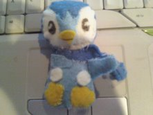 Piplup Plush -first draft- by LadyAuth