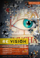 poster RE:VISION by makananjugaseni