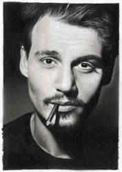 Johnny Depp by hrm-n