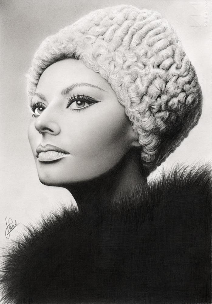 Sophia Loren by hrm-n