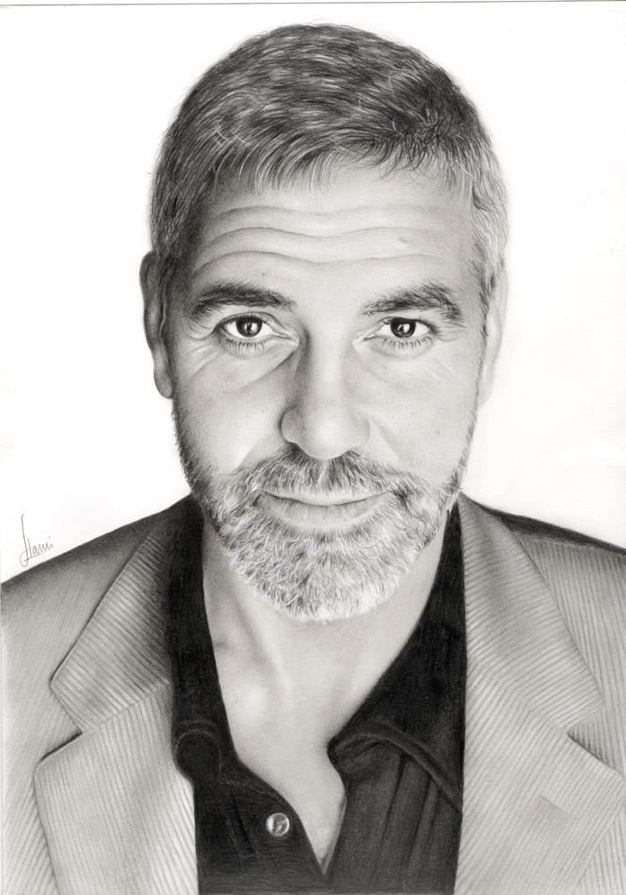 George Clooney by hrm-n