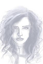 portrait sketch by jormungan13