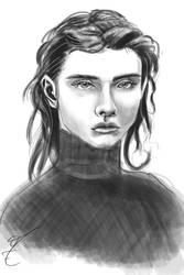 portrait sketch 2 by jormungan13