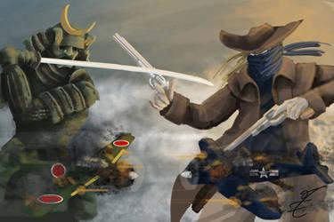 pacific showdown by jormungan13