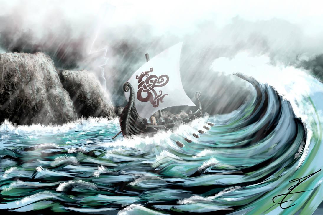 lost in the storm by jormungan13