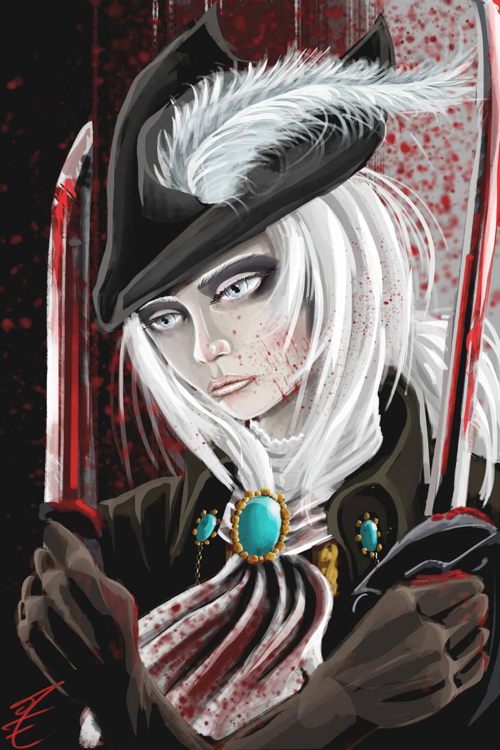Lady Maria by jormungan13
