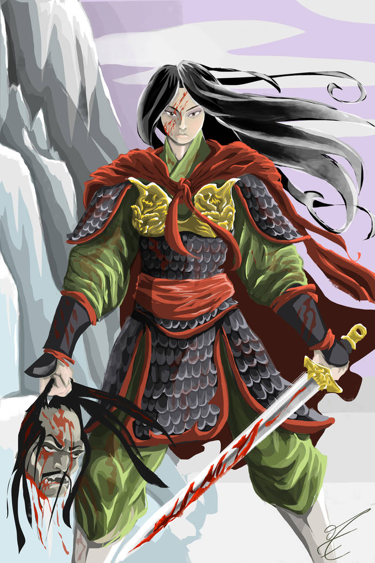 Mulan revisited by jormungan13