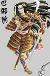 Tomoe Gozen by jormungan13