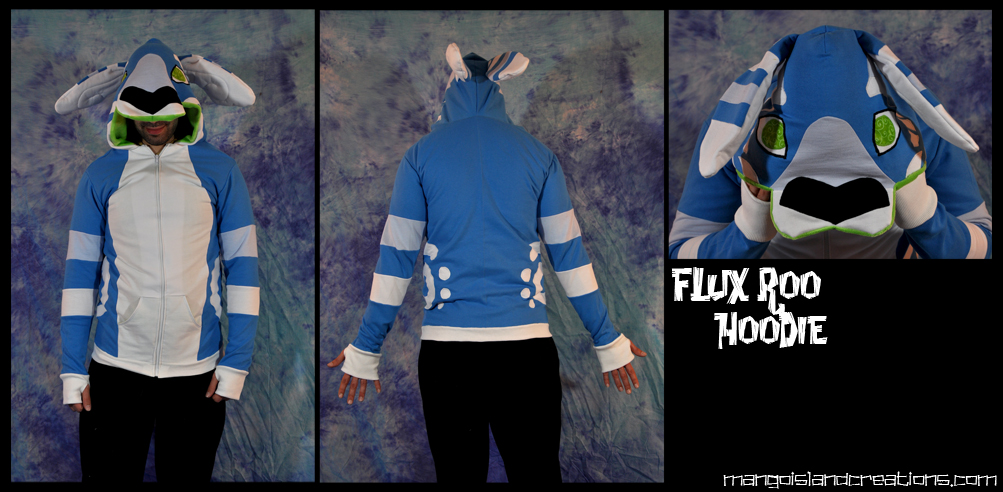 Flux Kangaroo Hoodie by MangoIsland