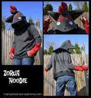 Zorua Hoodie by MangoIsland
