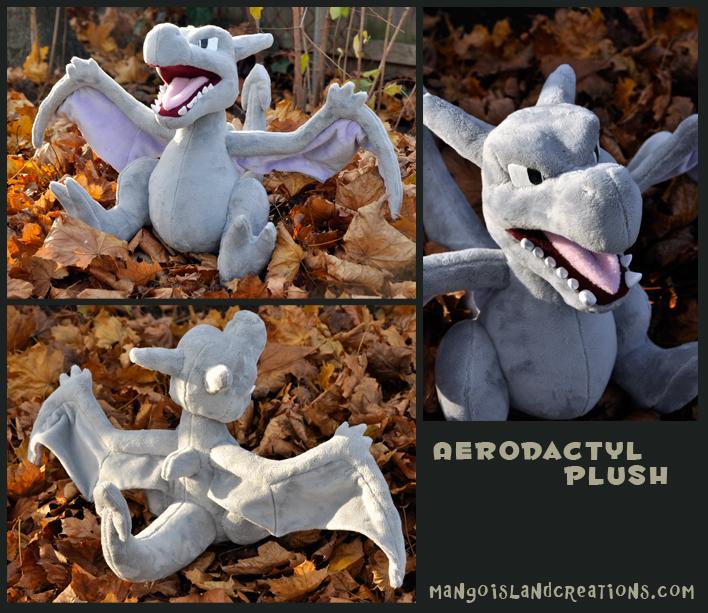 Aerodactyl Plush by MangoIsland