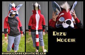 Dezu hoodie by MangoIsland