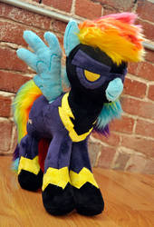 Nightmare Night Shadowbolt Rainbow Dash by MangoIsland