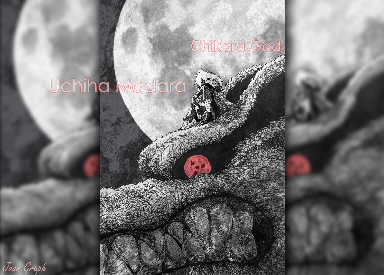 Uchiha Madara - Chikara God (Poder de Dioses) by juangraph