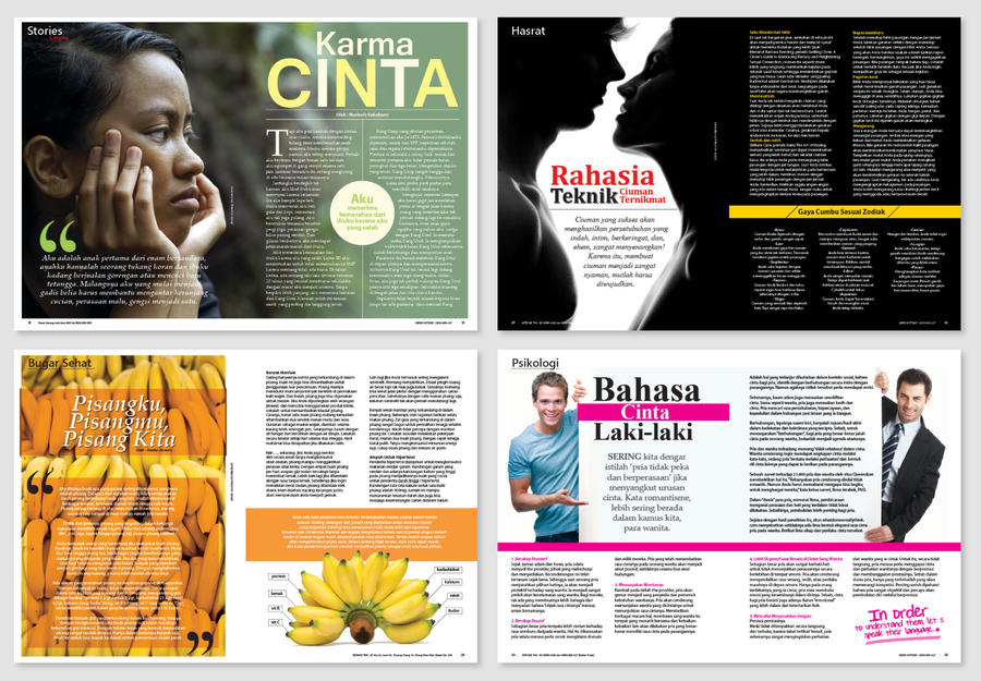 Magazine layout by anomalisoul on deviantart for Designs magazine
