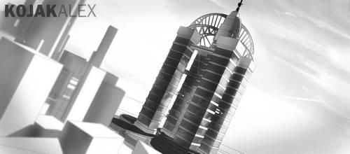 Skyscraper by kojakalex