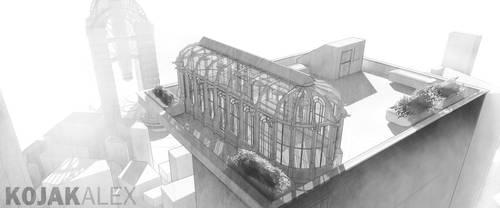 Greenhouse sketch by kojakalex