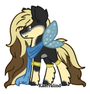 Blonde Pixie Pony: CLOSED by Kaerralind