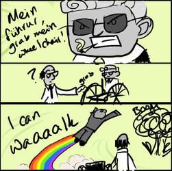 Grab Mein Wheelchair by oddsterinJpan