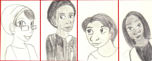 30 Days of Autistic Art-People by AnnieManga