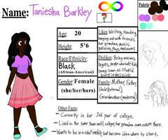 Taniesha- Character reference sheet
