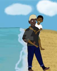 Sons of the Sea- Umi and Kaldur/Jackson
