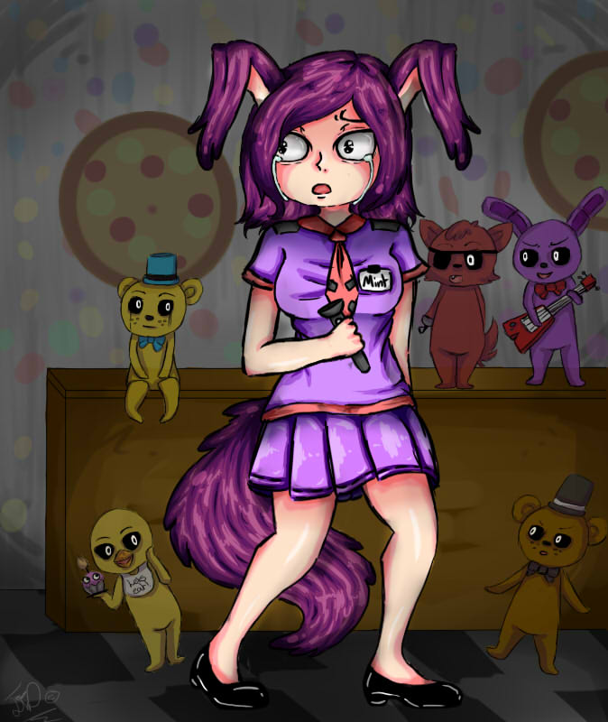 What was that fnaf fanart by mintivy on deviantart
