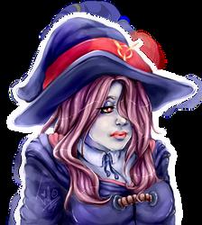 Sucy Manbavaran | Little Witch Academia Fanart. by MintIvy
