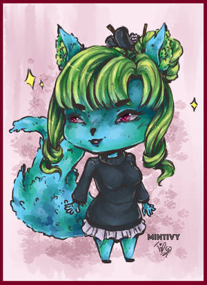 Chibi by MintIvy