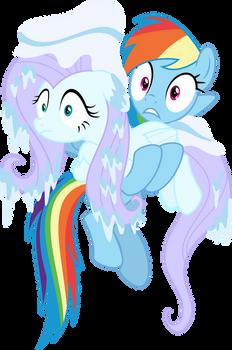 Dashie and Flutterfreeze