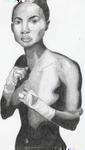 Fighting girl by Sagana666