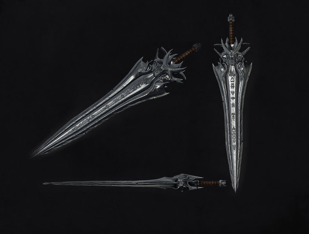 Epic Sword 3d Model By Dragonisaris On Deviantart