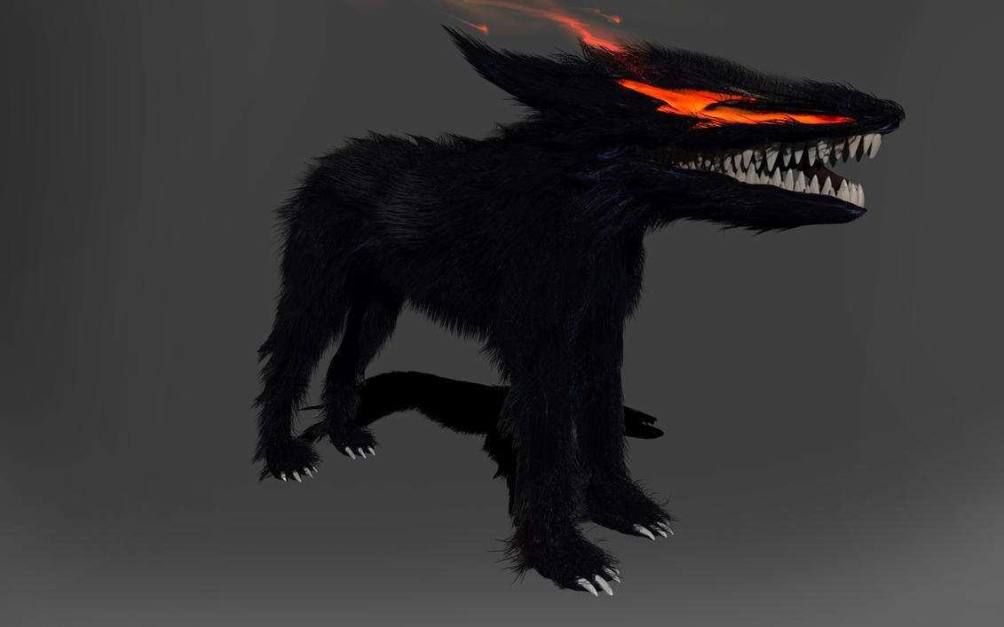 berserk hellhound by DragonisAris