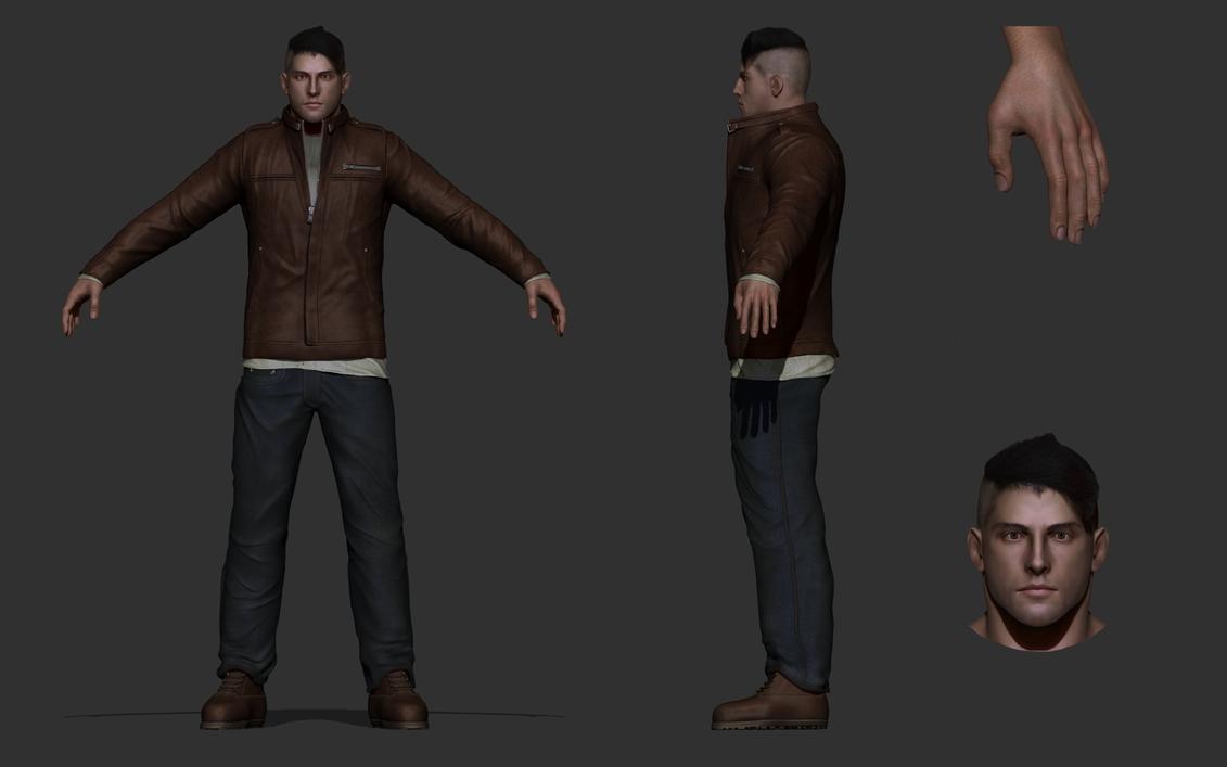 Main protagonist by DragonisAris