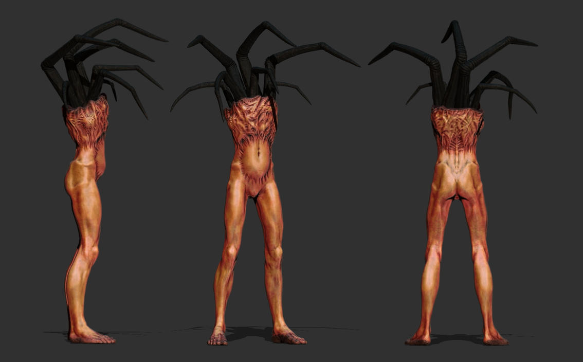 Disturbing creature by DragonisAris