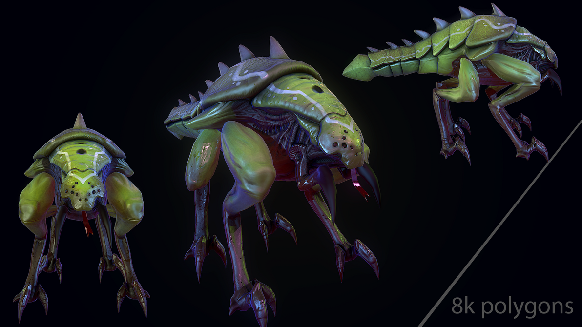 alien insect by DragonisAris