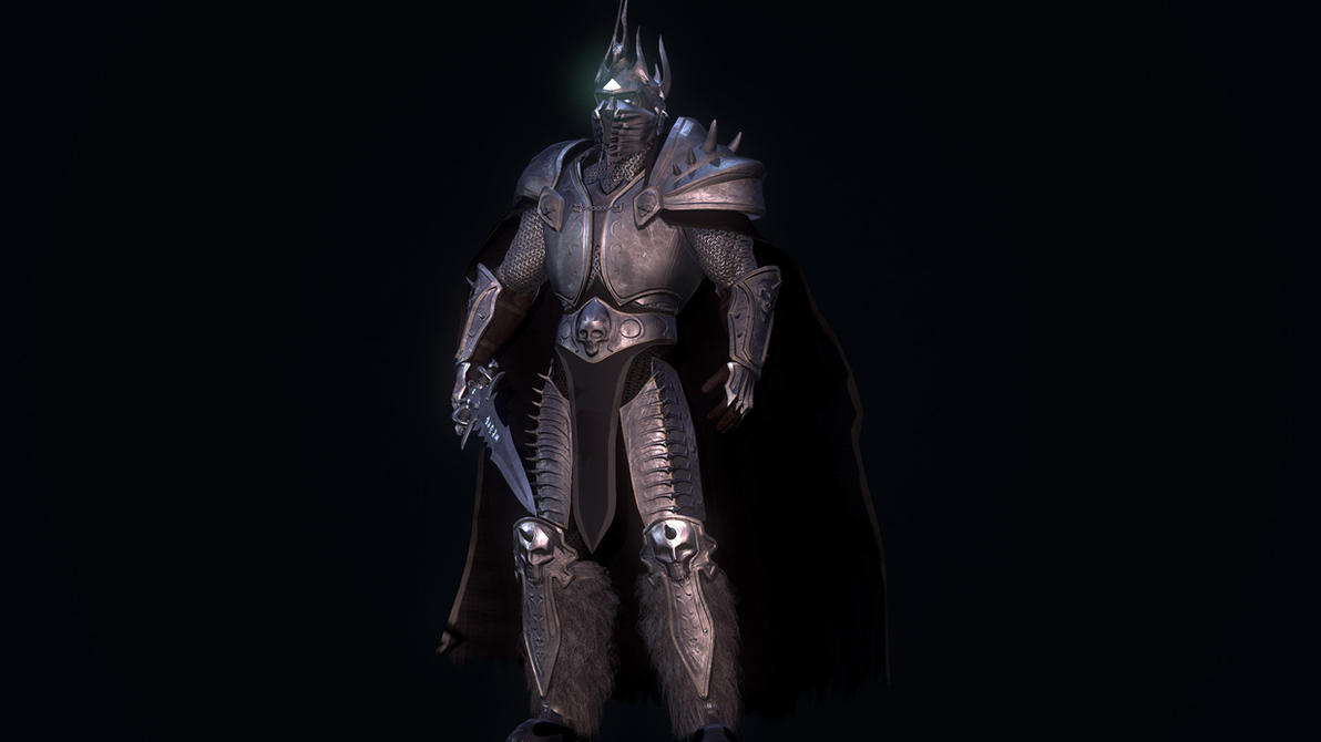 Lich king Game ready model by DragonisAris